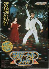 Saturday Night Fever 1977 John Travolta Japanese Chirashi Movie Flyer B5