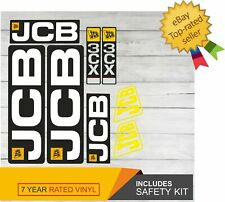 JCB 3CX  Decal Adhesive Sticker Complete Set