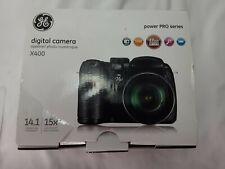 GE X400 Black 14MP Digital Camera with 2.7