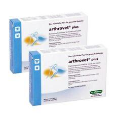 Arthrovet plus 2 x 90 Tabletten mit Grünlippmuschel Teufelskralle Hund Gelenke
