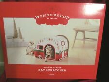 BRAND NEW 2019 Wondershop At Target Holiday RV Camper Cat Scratcher HARD TO FIND