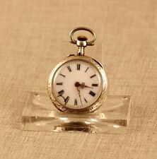 Silber Le Coultre (Jaeger) Taschenuhr Uhr solid silver pocket watch clock 古董掛表