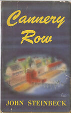 CANNERY ROW-JOHN STEINBECK-1945-1ST/1ST-W/$2.00 DJ-EXCELLANT COLLECTIBLE!