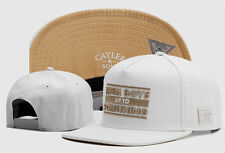 Hip Hop Men's CAYLER Sons Cap adjustable Baseball Snapback Street White hats