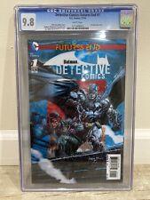 Detective Comics: Futures End #1 - 3D Lenticular Cover - CGC 9.8 + 6 FREE Books!