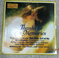 READERS DIGEST THANKS FOR THE MEMORIES BOX SET