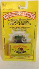 Matchbox Series Originals No. 4 Massey Harris Tractor Limited Edition