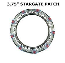 "Stargate SG-1 Stargate 3.75"" Patch- FREE S&H (SGPA-19)"