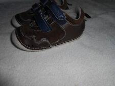 Boys Infant Size UK 5 EUR 21.5 M&S BROWN Walkmates Shoes, BNWOT