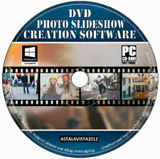 Presentación de diapositivas DVD-software de creación de DVD foto presentación de diapositivas + nueva imagen y video Editor