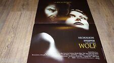 WOLF ! m pfeiffer j nicholson affiche cinema