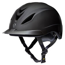 TROXEL - Unisex Intrepid Equestrian Helmet - Black - Small - 04-247 - New