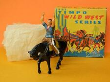 TIMPO BOXED LEAD MOUNTED VINTAGE 1950s SURRENDERING COWBOY WILD WEST SERIES