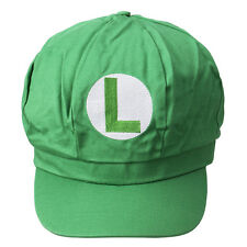 Super Mario Brothers Luigi cap Baseball Cap anime cosplay fabric gift New