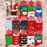 Cute Mens Womens Christmas Cotton Socks Snowman Snowflake Socks Stocking  Dytt