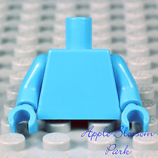 NEW Lego Minifig Plain DARK AZURE BLUE TORSO Star Wars Max Rebo Med Body w/Hands