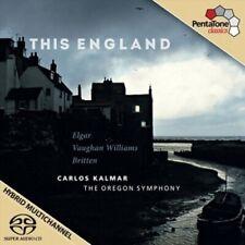 1-SACD ELGAR / VAUGHAN WILLIAMS / BRITTEN - THIS ENGLAND - CARLOS KALMAR / THE O