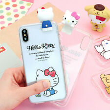 Genuine Hello Kitty Friends Figure Jelly Case iPhone XS/XR/iPhone XS Max Case