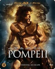 STEELBOOK 3D +  BLU-RAY  - POMPEII -  2014 -   (NEW / NIEUW / NOUVEAU / SEALED)
