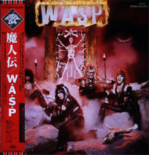 WASP W.A.S.P. Japanese LP Album OBI Poster Insert Hard Attack Series 1984 As New