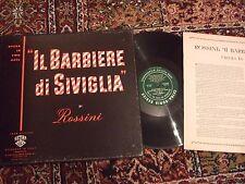 Rossini Il Barbiere di Siviglia, Simionato Previtali Cetra-Soria 1211