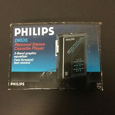 PHILIPS D6535# Cassette Player - WORLD WIDE SPONSOR 1988 OLYMPIC GAMES - Walkman