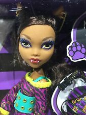 "MATTEL Monster High CLAWDEEN WOLF School's Out Edition 12"" doll RETIRED 2011"