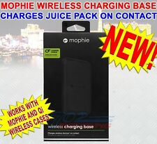 NEW MOPHIE UNIVERSAL WIRELESS CHARGING BASE FOR MOPHIE BATTERY CASES & Qi DEVICE