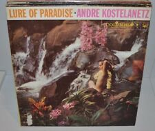 ANDRE KOSTELANETZ Lure of Paradise LP Record Sexy Cheesecake Cover