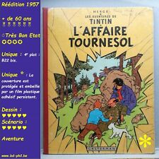 Tintin, 17, L'affaire Tournesol, Hergé, Casterman, R, B22bis, 1957, BE, *C+FP*