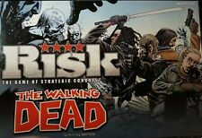The Walking Dead Risk: Survival Edition Strategic Conquest Board Game Complete!