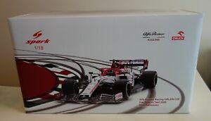 Spark 1/18 Kimi Raikkonen Alfa Romeo C39 F1 Pre-Season Test GP 2020 (18S477)