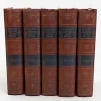 History of the World in Five Volumes J.N. Larned Hardcover World Syndicate 1915