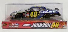 2007 Winner's Circle NASCAR #48 Jimmie Johnson Lowe's Scale 1:24 Monte Carlo SS