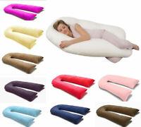 9ft / 12ft Comfort U Pillow & Case - Full Total Body Pregnancy Maternity Support