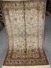 3X5 FT Very Rare Handmade Ghoum Kashaan Design  high quality Pure Silk Kashmiri