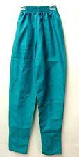 Scrub Pants Textiles Plus Teal Uniform Xs Elastic Waist Women's Bottoms New