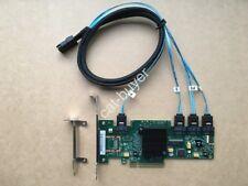 LSI 9212-4i SAS 6GB RAID Controller Card 4-ports  RAID 0/1/1E/10 + 7pin to 8087