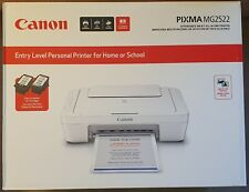 NEW Canon PIXMA MG2522 Wired All-in-One Color Inkjet Printer INK INCLUDED 🖨