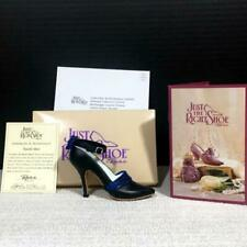 Just The Right Shoe 25062 Gcc Blue Tuxedo Miniature Resin Shoe by Raine, Bnib