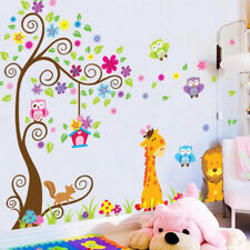 Removable Vinyl Wall Decal Nursery Stickers Tree Kids Baby Room DIY Home Decor