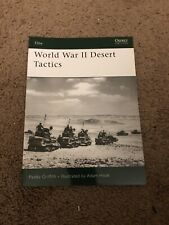 Osprey World War II Desert Tactics Africa Bolt Action Guide Publishing