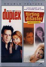 NEW DOUBLE FEATURE DVD // DUPLEX + FLIRTING WITH DISASTER // BEN STILLER