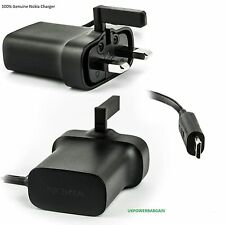 ORIGINA NOKIA WALL CHARGER AC-18X MICRO USB FOR LUMIA 920 820 710 N97 N9 530 630