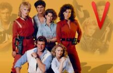 V 80s 90s Poster TV Movie Photo Poster  24 by 36 inch  4