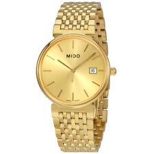 Mido Dorada Gold Tone Dial Unisex Watch M11303121