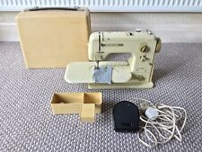 BERNINA 707 MINIMATIC VINTAGE SEWING MACHINE GOOD WORKING ORDER WITH PEDAL & BOX