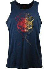 Independent Truck Co. Tank Top DEATHHEAD VEST in Denim Heather Shirt Größe S