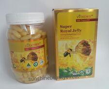 New Vitatree Royal Jelly 1600mg 365 Capsules with 6% 10-HDA Royal Jelly Powder