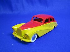AE820 QUIRALU ROLLS ROYCE ROUGE JAUNE MADE IN FRANCE 1/43